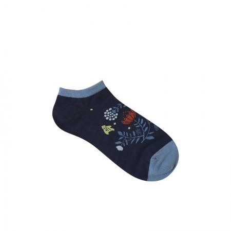Jacquard socks with Indian Bird Pattern
