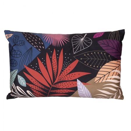 Tropic velvet cushion