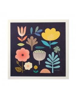 Affiche botanique
