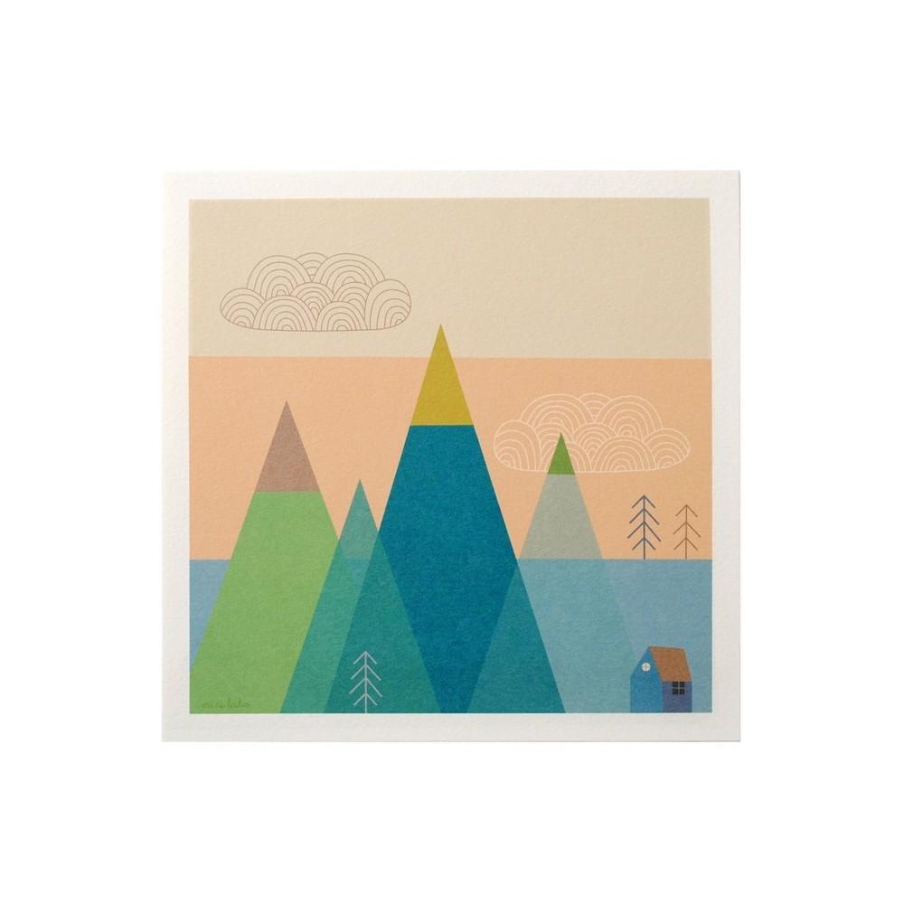 Affiche Montagne