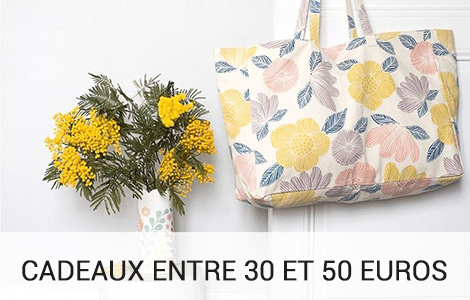 Gifts between 30 and 50 euros
