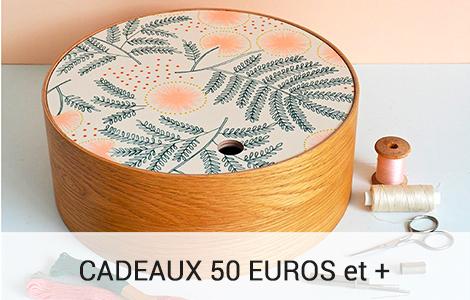 Cadeaux 50 euros et plus